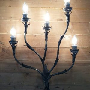 Five Arm Wall Sconce